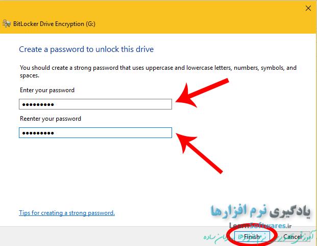 تغییر رمز قفل bitlocker درایو بدون نیاز به رمز قبلی