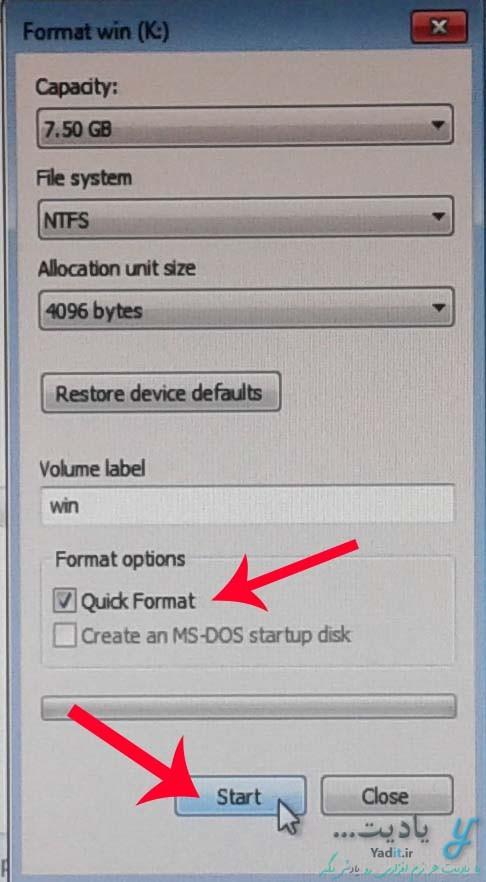 حذف کامل و آسان انواع ویندوز با استفاده از یک ویندوز همراه