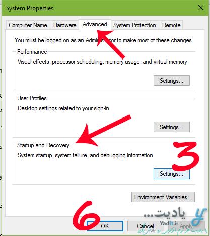 تغییر ویندوز پیش فرض برای ورود خودکار در کامپیوترهای دارای دو یا چند ویندوز در خود ویندوز