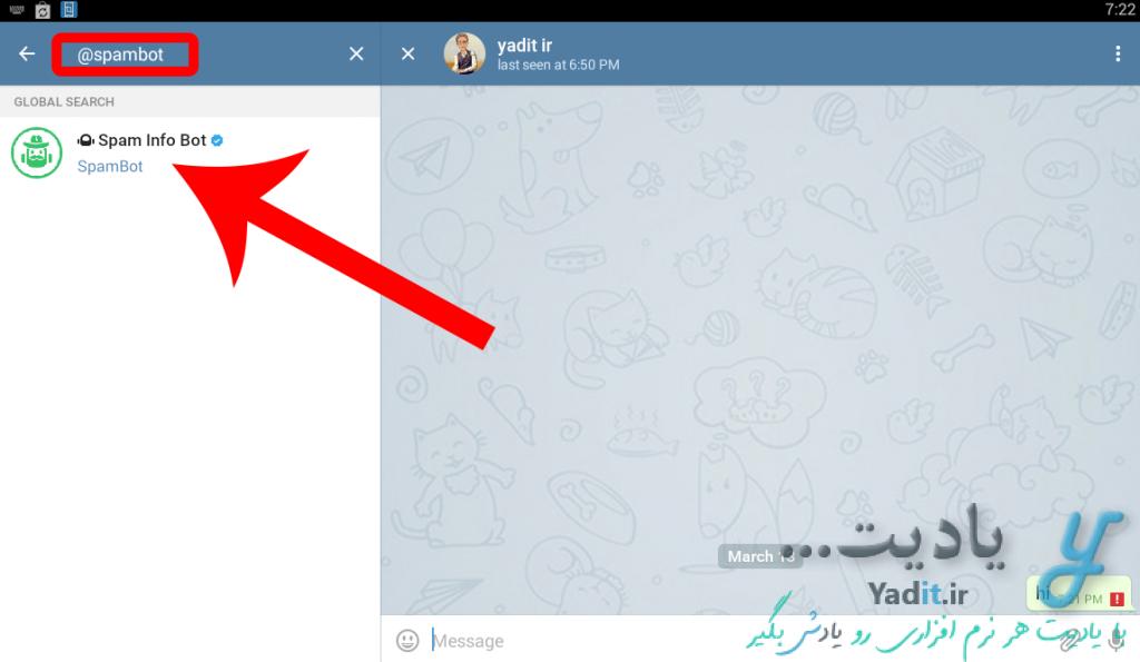 استفاده از ربات رفع مشکل ریپورتی تلگرام (Report)