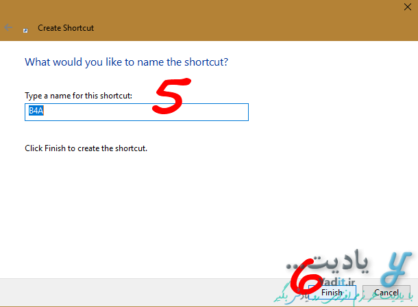ساختن شورت کات (Shortcut) فایل های مختلف در مکان های دلخواه کامپیوتر