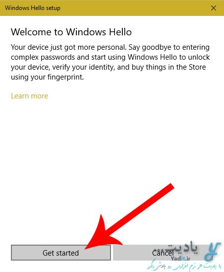 تنظیم سنسور اثر انگشت (Fingerprint) برای ورود به ویندوز 10