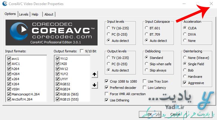 کدک CoreAVC.Professional
