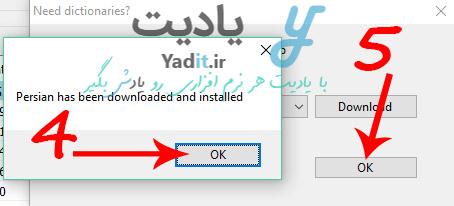 دانلود موفقیت آمیز زبان فارسی برای تبدیل فرمت idx به srt